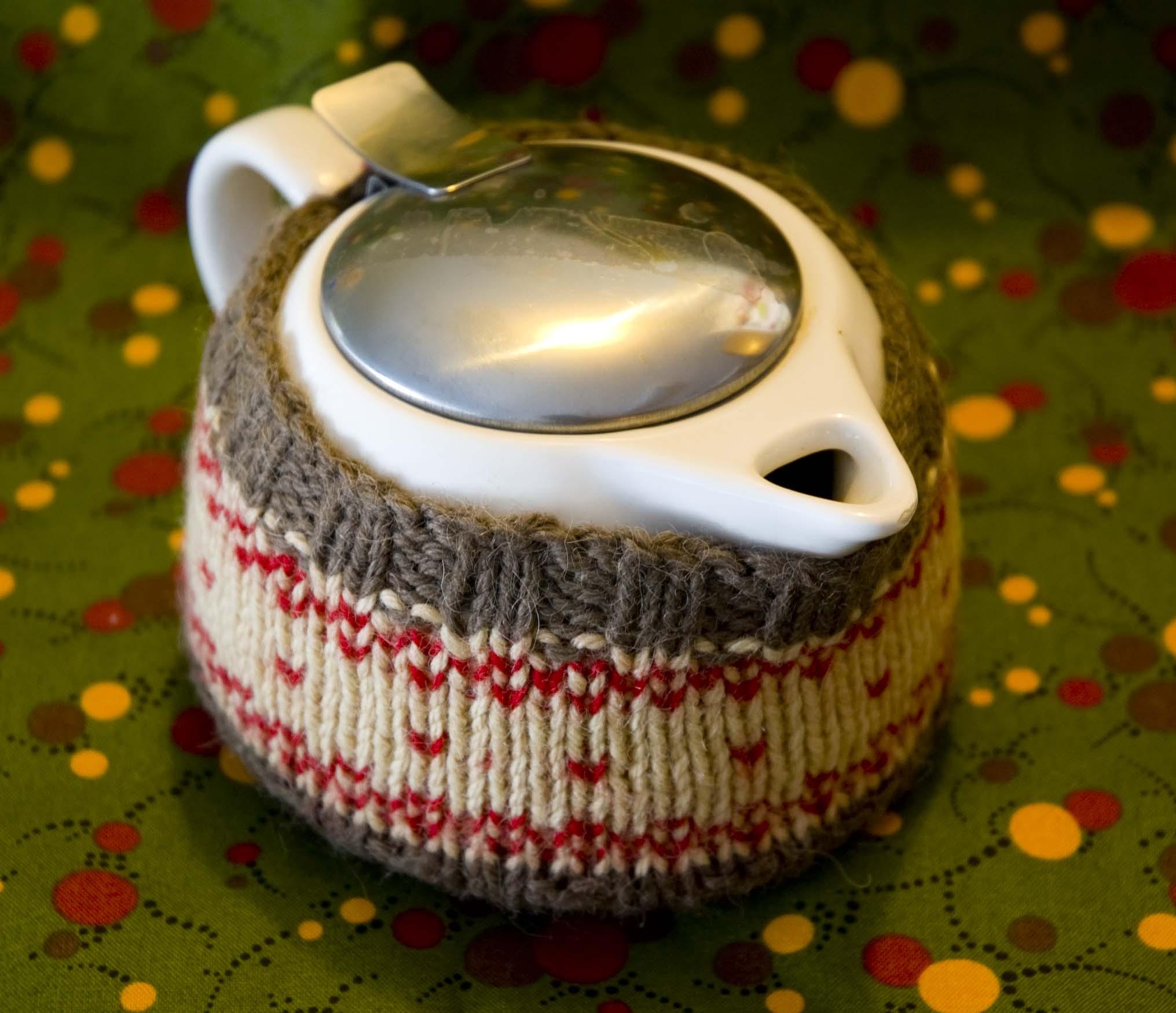 Knit Tea Cozy Free Pattern
