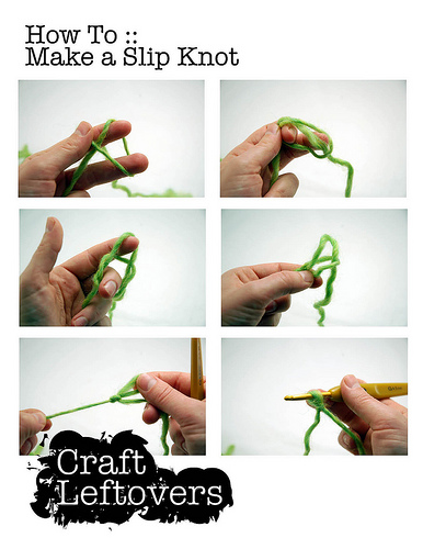 Stitching School: Chaining and the Single Crochet