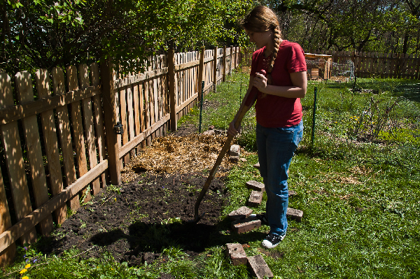 How to Dig a Weed Free Garden Bed