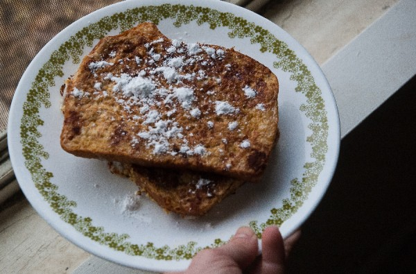 Recipe: Stale bread? Make French Toast!