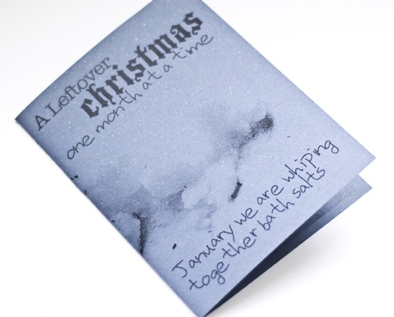 Leftover Christmas Zine: Issue 1