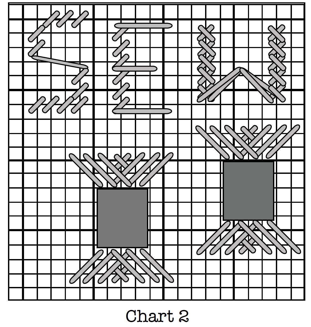 Embroidery Chart for Plastic Canvas