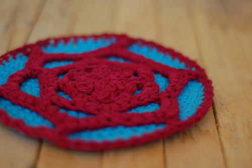 Free Crochet Pattern: Tribble Trivet