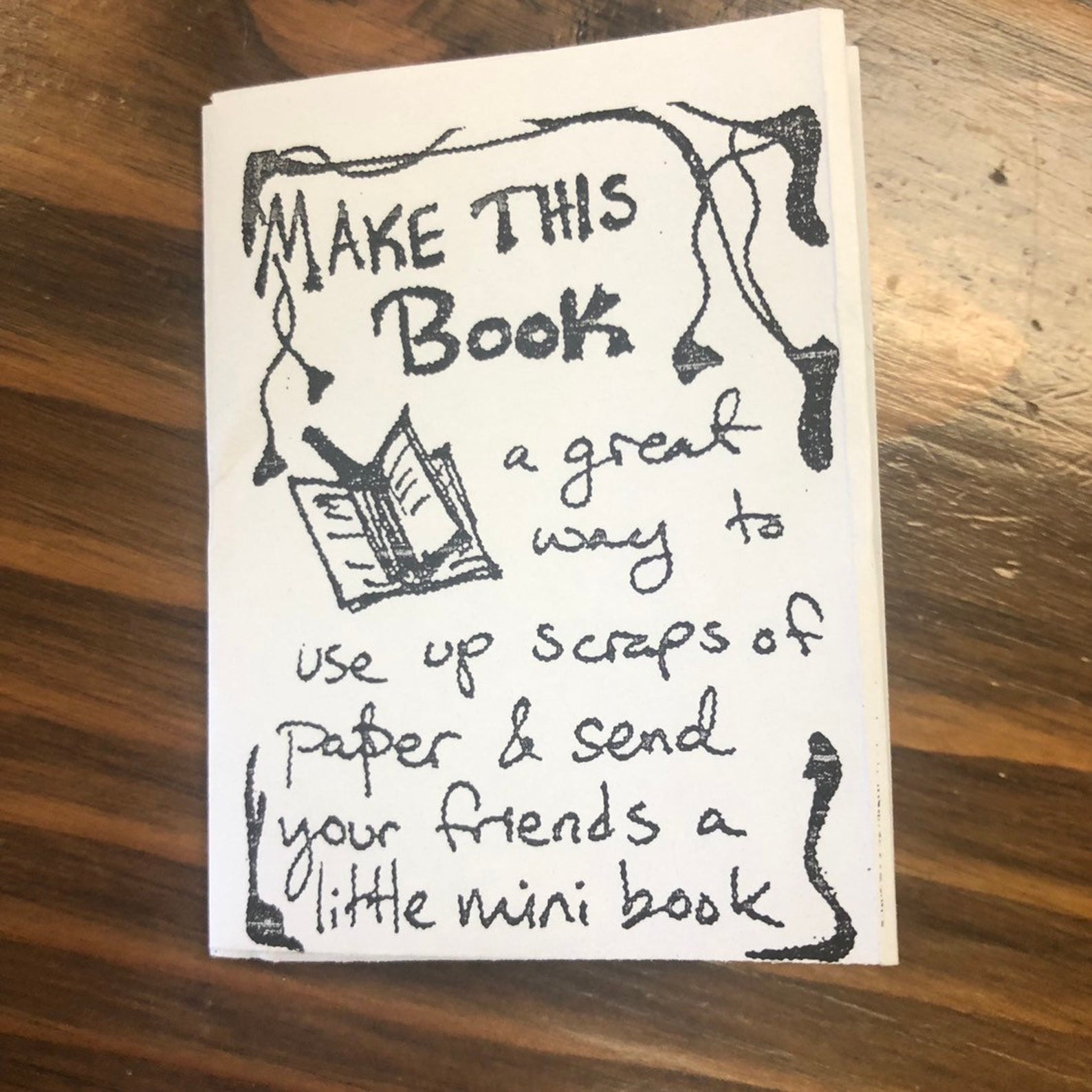 Make this Book Mini Zine