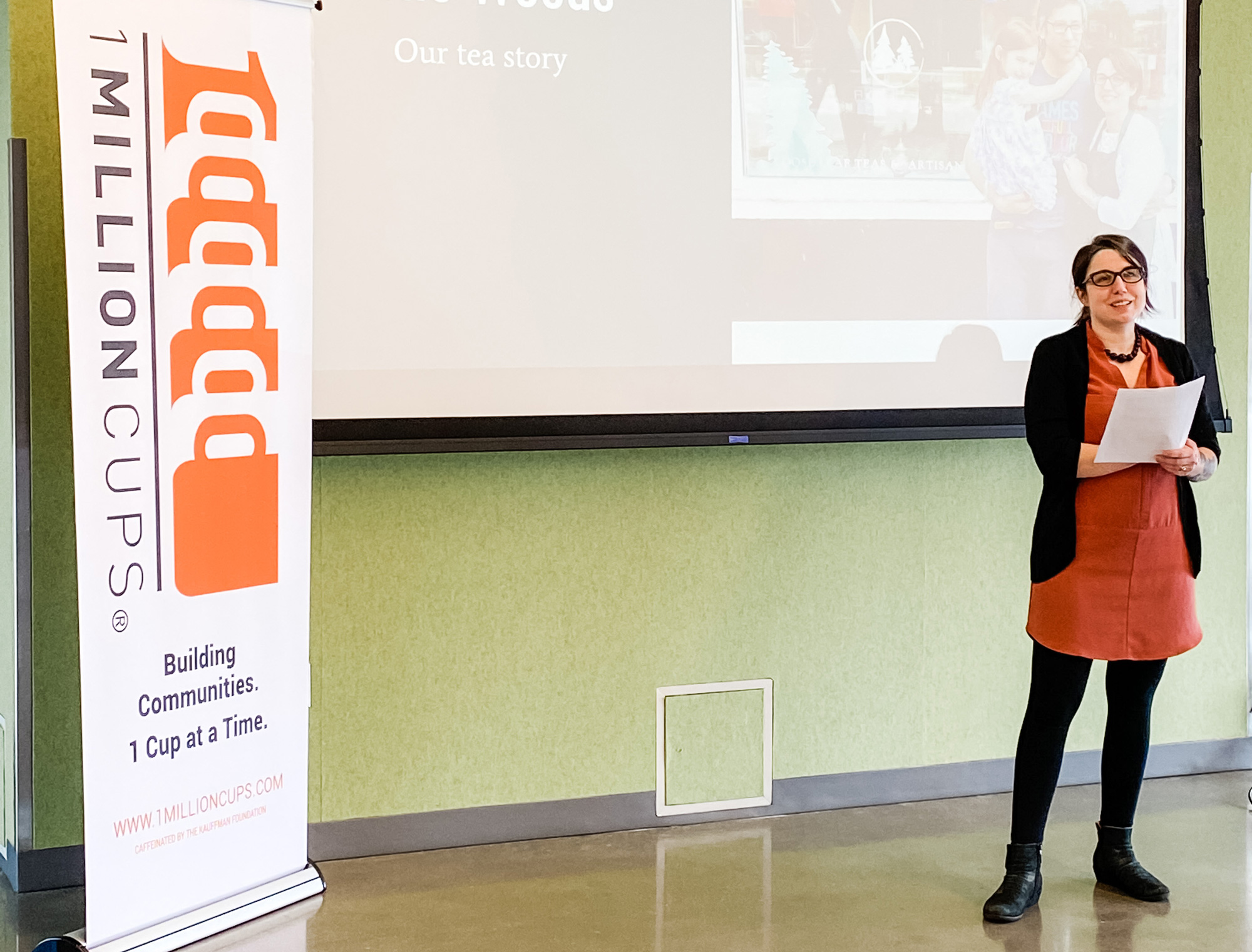 Speaking at 1 Million Cups Ames: Show Notes Edition