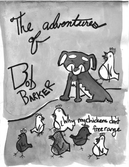 Adventures of Bob Barker Mini Zine